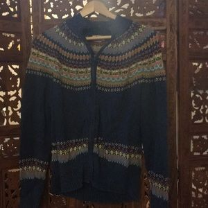 Funky Vintage zip up!